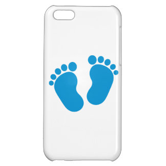 Blue baby feet iPhone 5C covers