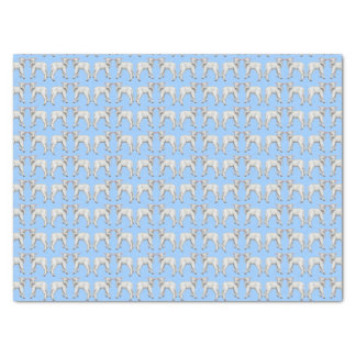 Blue Baby Lamb Tissue Paper
