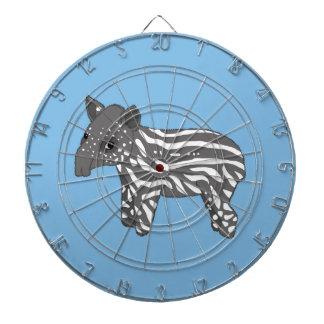 blue baby tapir dart board