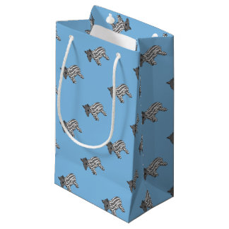 blue baby tapir small gift bag