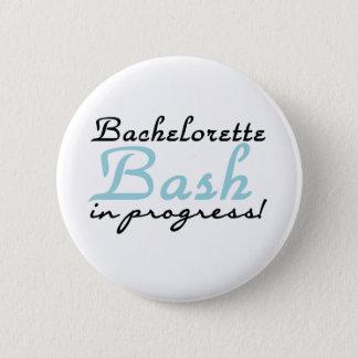 Blue Bachelorette Bash 2 Inch Round Button
