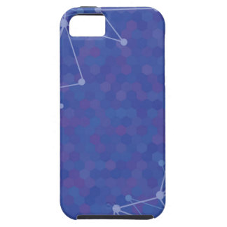 blue  background iPhone 5 case