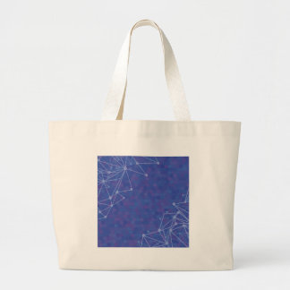 blue  background large tote bag
