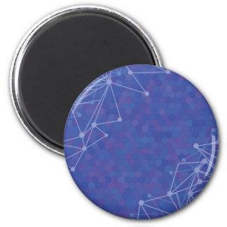 blue  background magnet