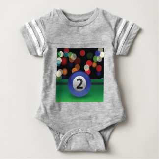 blue ball baby bodysuit