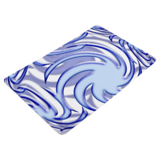 Blue Ball Floor Mat
