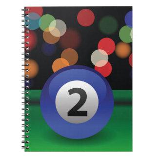 blue ball notebook