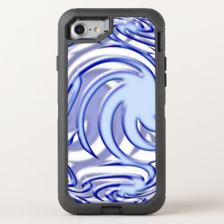Blue Ball OtterBox Defender iPhone 8/7 Case