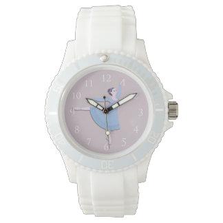 Blue Ballerina Wrist Watch