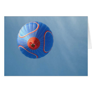 Blue Balloon card