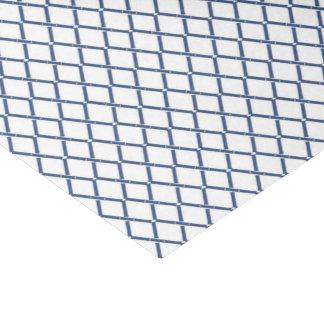 Blue Bamboo Trellis Tissue by Redux121DesignStudio Tissue Paper