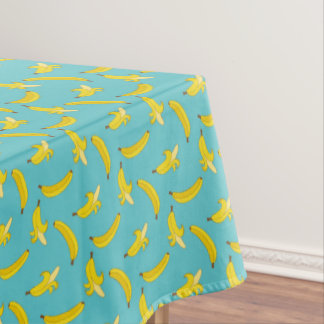 Blue Bananas Tablecloth