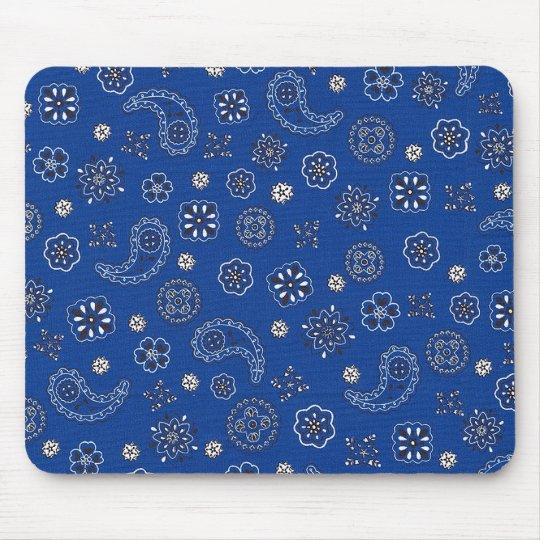 Blue Bandana Mousepad
