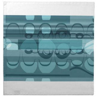 Blue banner napkin