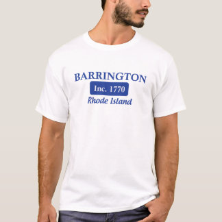Blue Barrington Rhode Island Tee