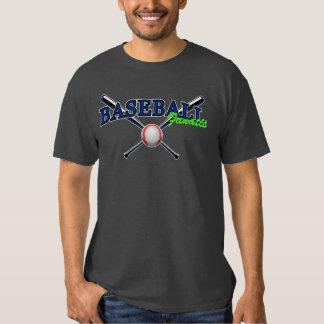 Blue Baseball fanatic with ball and bats 2 T Shirts