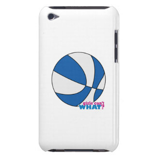 Blue Basketball iPod Case-Mate Cases