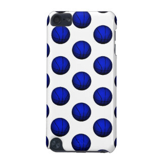 Blue Basketball Pattern iPod Touch (5th Generation) Case