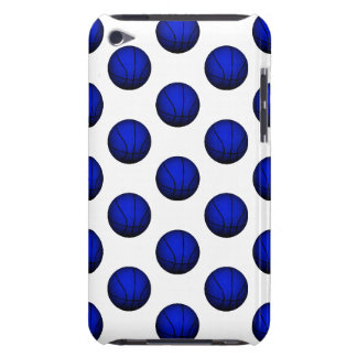 Blue Basketball Pattern iPod Touch Case-Mate Case