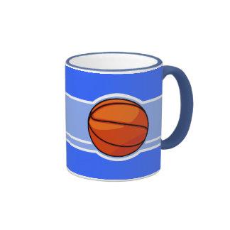 Blue Basketball Sport Mug