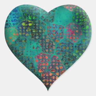 Blue Batik #2 Sticker