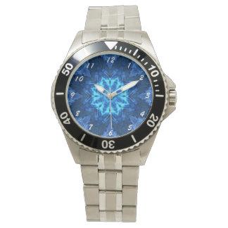 Blue Batik Watch
