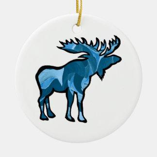 Blue Bayou Ceramic Ornament