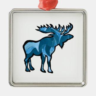 Blue Bayou Metal Ornament