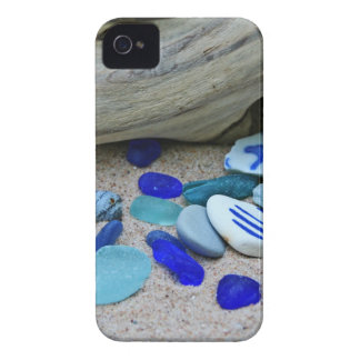 Blue Beach Glass iPhone 4 Case-Mate Cases