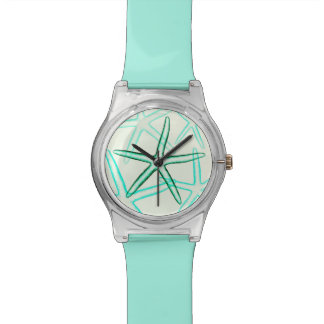 Blue Beach Starfish Watch