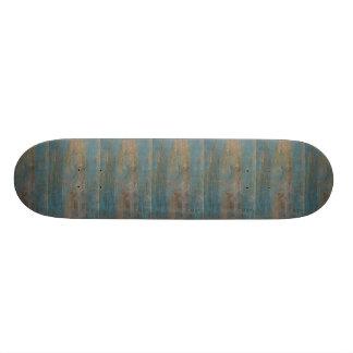 Blue Beach Wood Texture Skate Decks