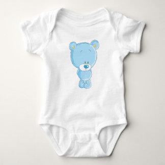 Blue Bear Baby Jersey Bodysuit