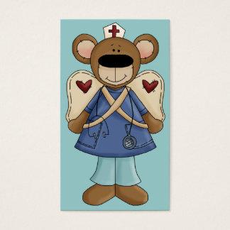 Blue Bear Nurse Business Card