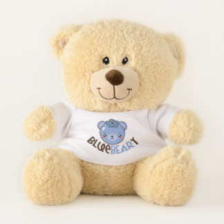 Blue-Beary Emoji Teddy Bear