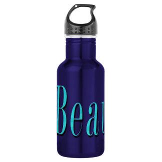 Blue Beau Name Logo, 532 Ml Water Bottle