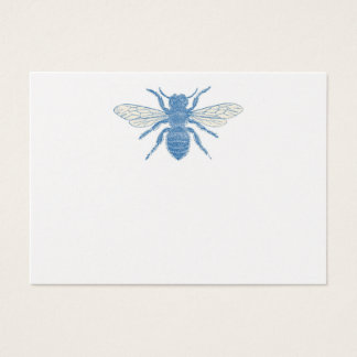 Blue Bee Gift Enclosure Business Card