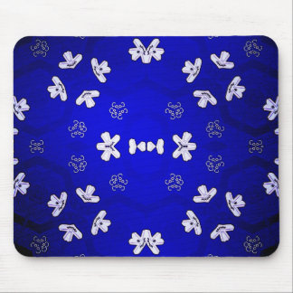 Blue Beijing Mouse Pad