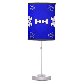 Blue Beijing Table Lamp