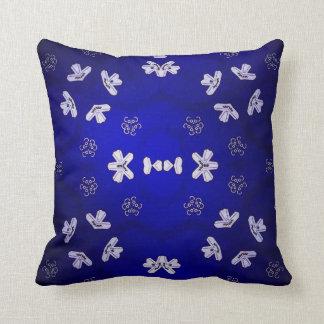 """""""Blue Beijing """" Throw Pillow"""