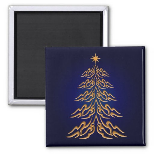 Blue Bell  Christmas Tree Magnet