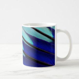 Blue-bellied Roller feathers Coffee Mug