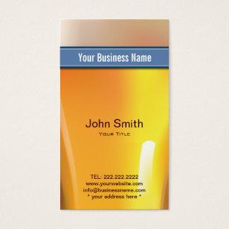 Blue Belt Liquor Store/Bar Business Card