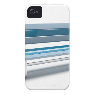 Blue bench iPhone 4 cover