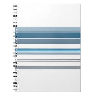Blue bench notebook