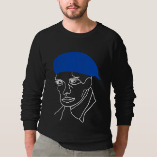 Blue Beret Sweatshirt