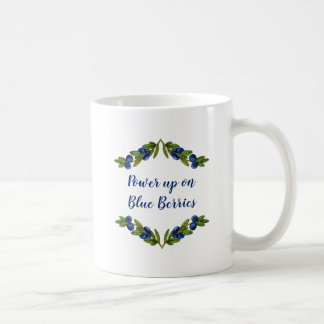 Blue Berry Custom Coffee Mug
