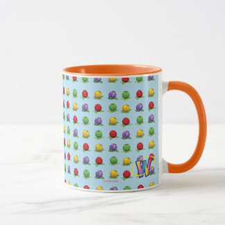 Blue Berry Pattern Mug