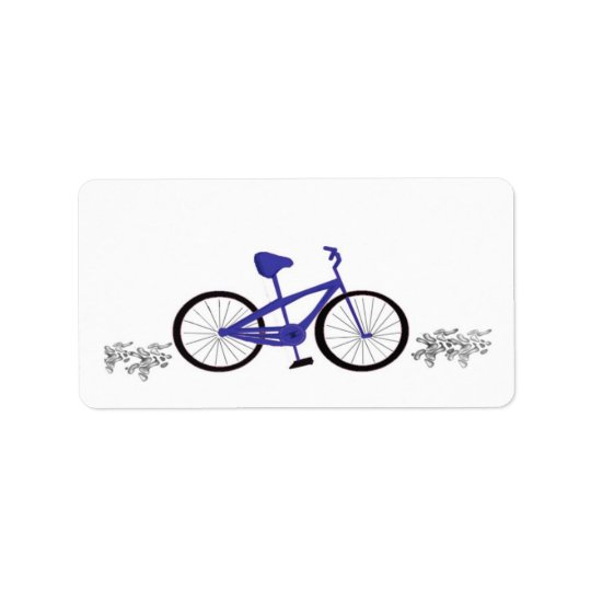 Blue Bicycle Label