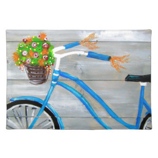 Blue Bike Zazzle Placemat