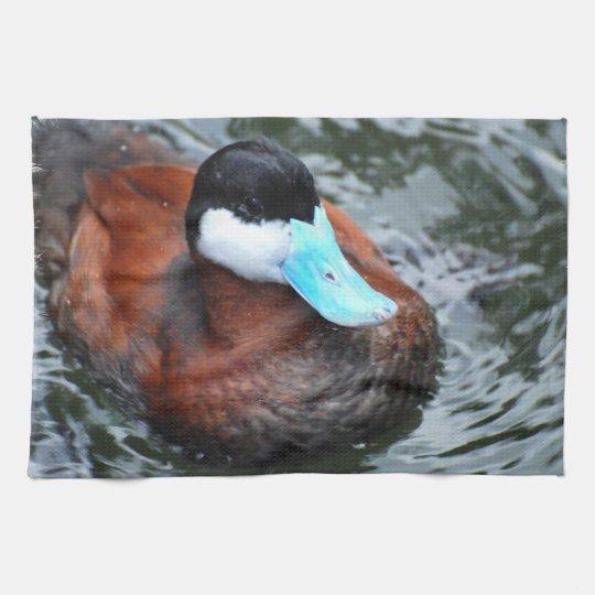 Blue Billed Duck Kitchen Towel